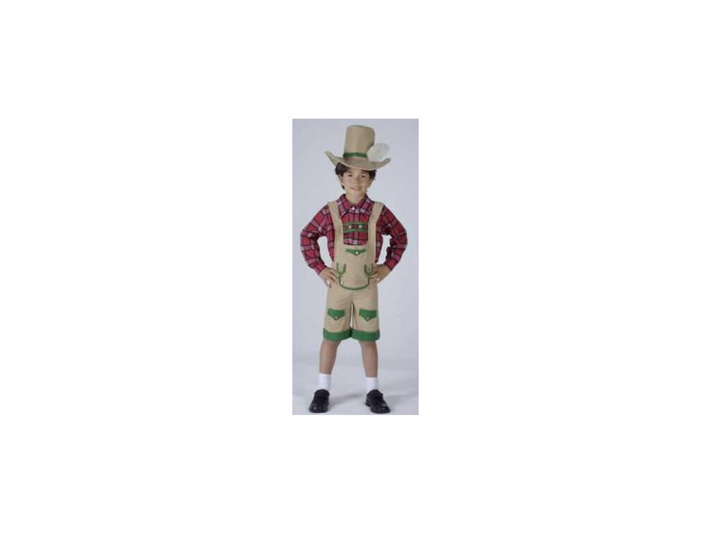 Disfraz Chico de los Alpes Niño Talla L