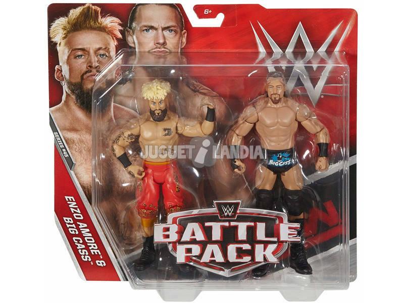 WWE pack 2 Figure con Accessori Mattel P9579