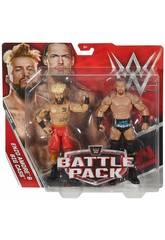 WWE Pack 2 Figurines Mattel P9579
