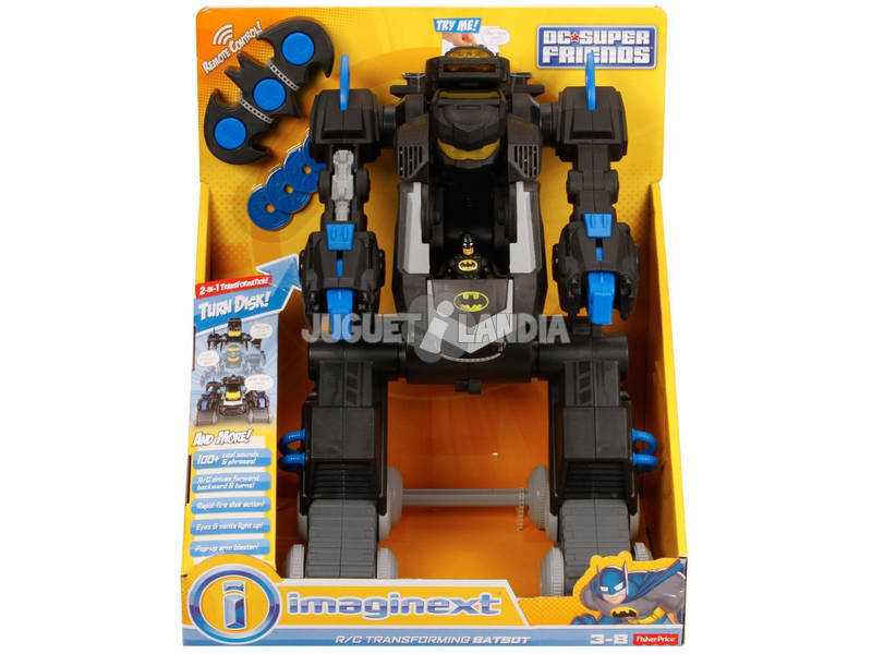 Imaginext Robot Transformable Mattel DMT82
