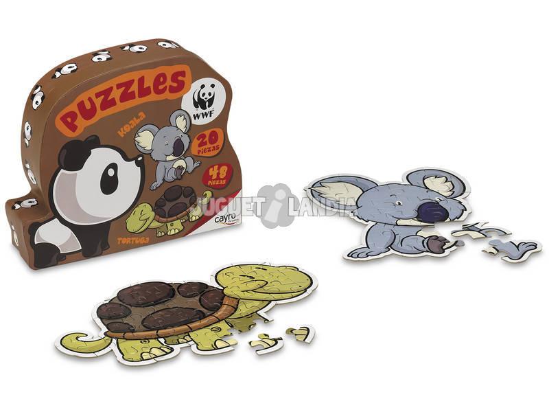 Puzzle Formas WWF