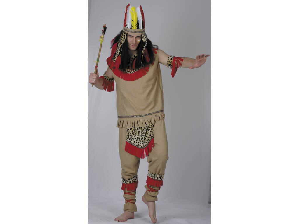 Disfraz Indio Hombre Det. Leopardo Talla XL