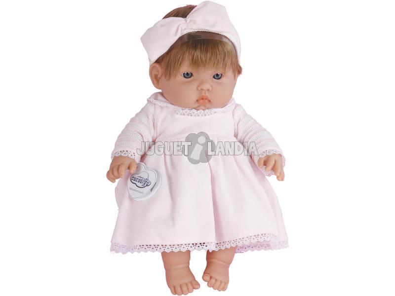 Bebe Gordinho 35 cm. Baby Pink