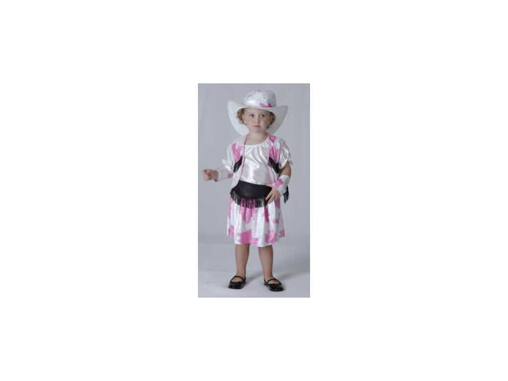 Déguisement Cow-boy Blanc Bébé Taille M