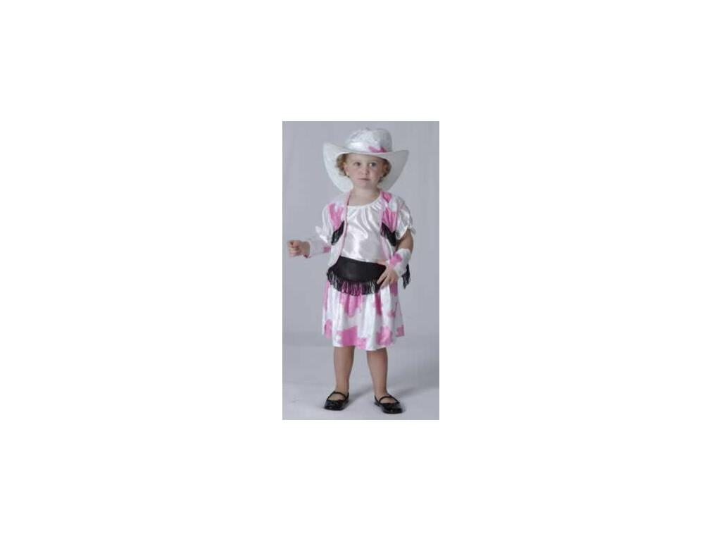 Déguisement Cow-boy Blanc Bébé Taille L