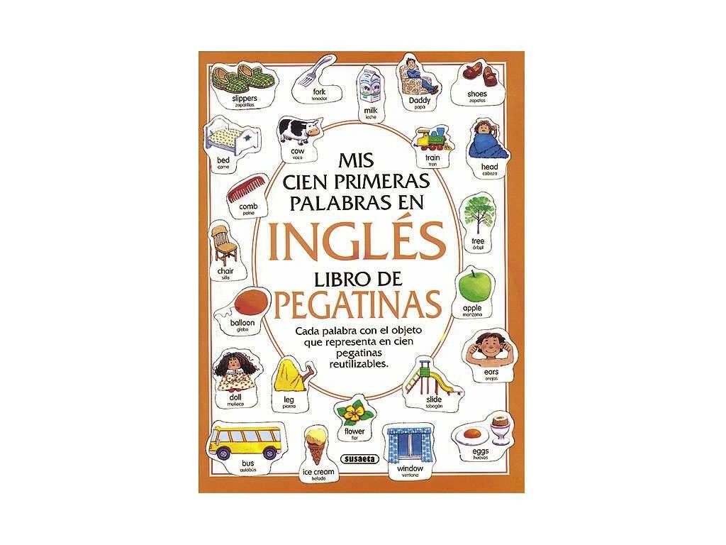 Libro Ing-Ale-Fran. Libro de Pegatina Susaeta S0253