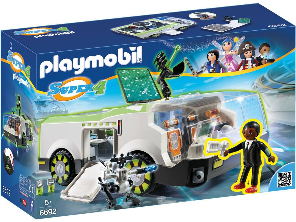 Playmobil-Super 4: Il Camaleonte con Gene