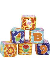 Cubos Blanditos 6 Piezas