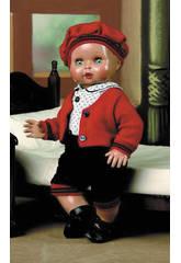 Juanin Pérez Baby Kleidung Blau und Rote Mantel
