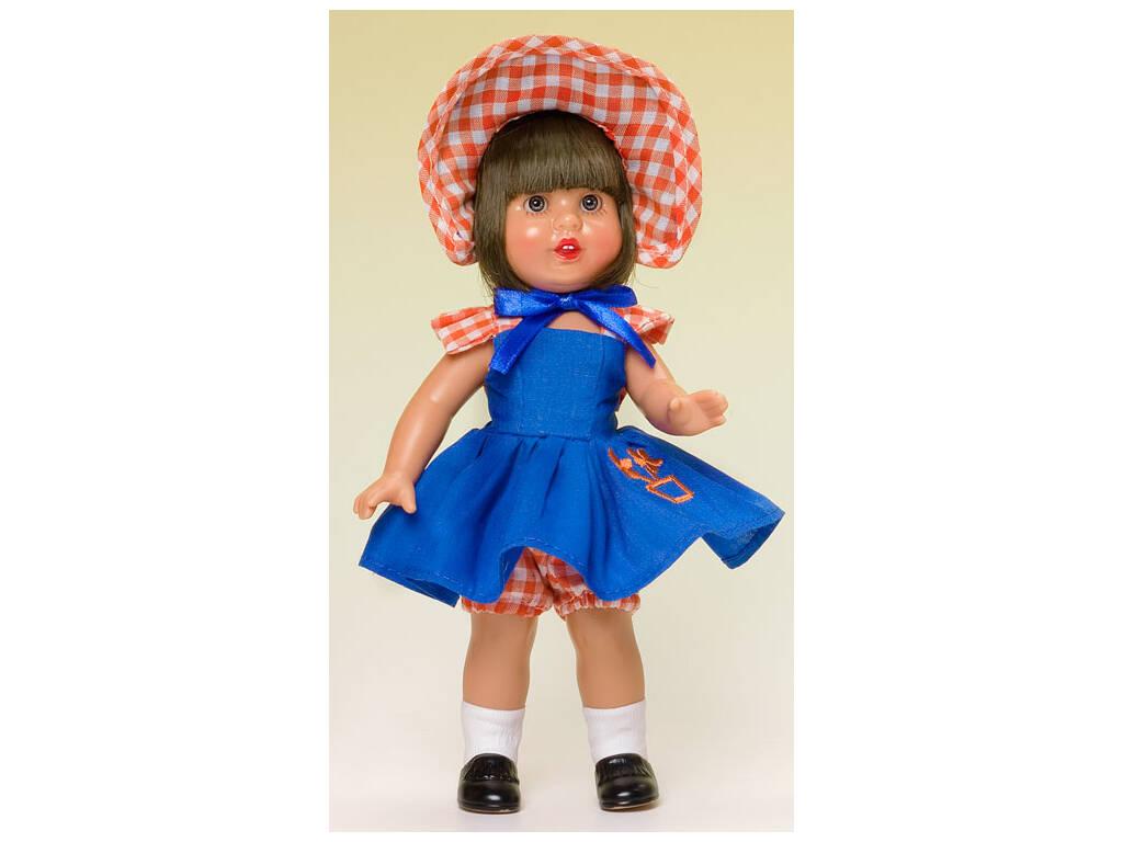 Mini Mariquita Pérez Vestido Azul Capota