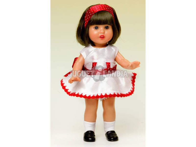 Mini Mariquita Pérez Shantu Blanco y Rojo