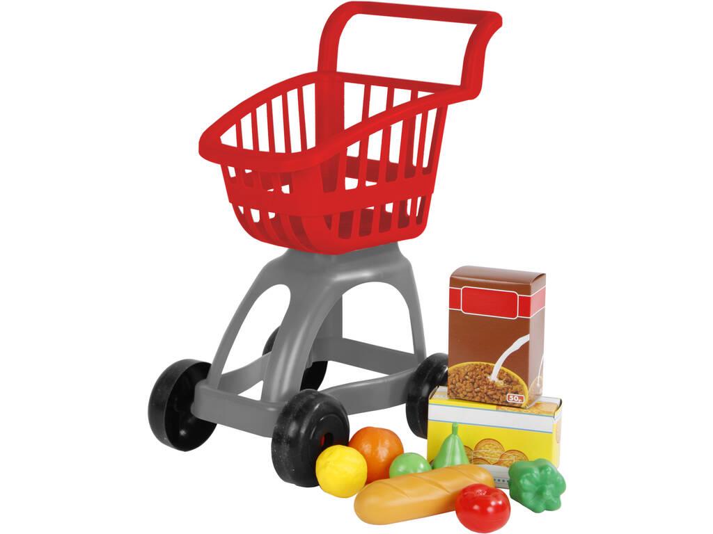 Carrinho Supermercado com Acessórios
