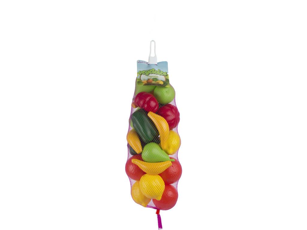 Frutas y Verduras 21 piezas Vicam Toys 01-JU