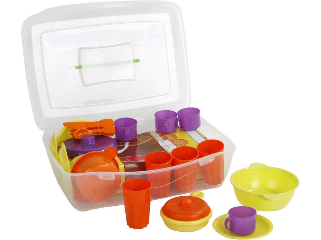Maletin 34 piezas Menaje Vicam Toys 05-JU