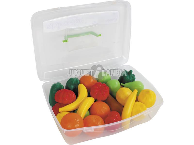 Maletin 24 Piezas Frutas y Verduras Vicam Toys 06-JU