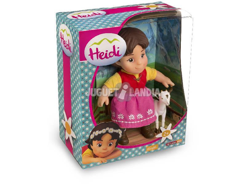 Figura Heidi e Branquinha 17cm Famosa 700012250
