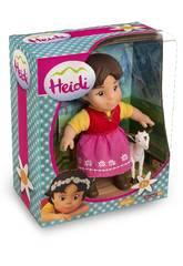 Figura Heidi y Blanquita 17cm Famosa 700012250