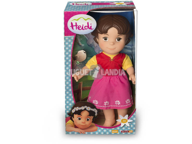 Muñeca Heidi 36 cm Famosa 700012252