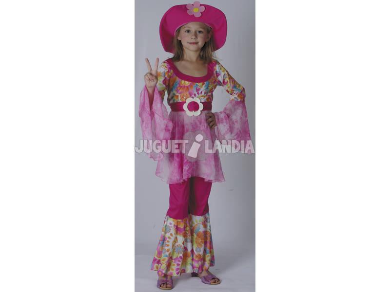 Disfraz Diva Hippie Niña Talla L