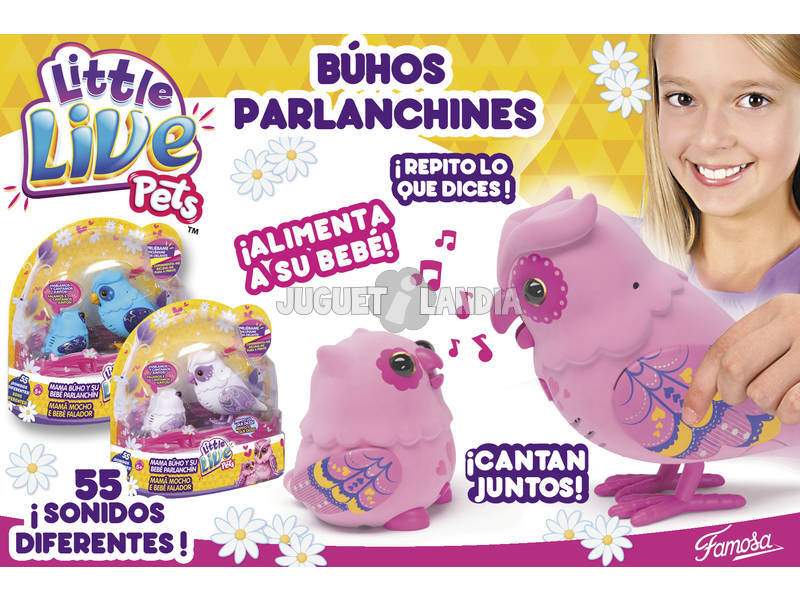 Little Live Pets Búhos Parlanchines