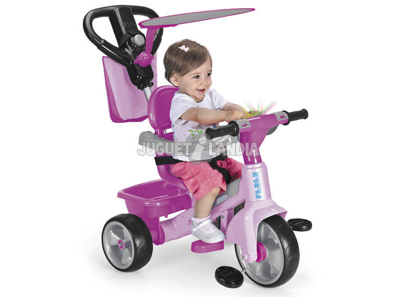 Triciclo Baby Plus Music Pink Famosa 800010210