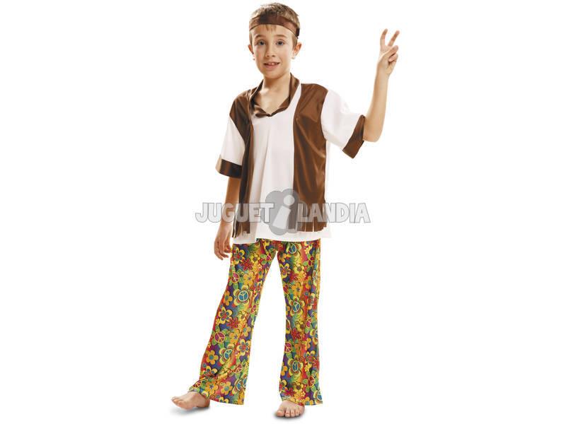 Fantasia Menino XL Happy Hippie