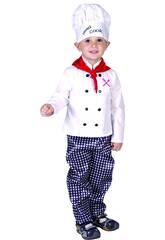 imagen Disfraz Cocinero Bebé Talla M