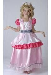 imagen Disfraz Princesa Aro Niña Talla L