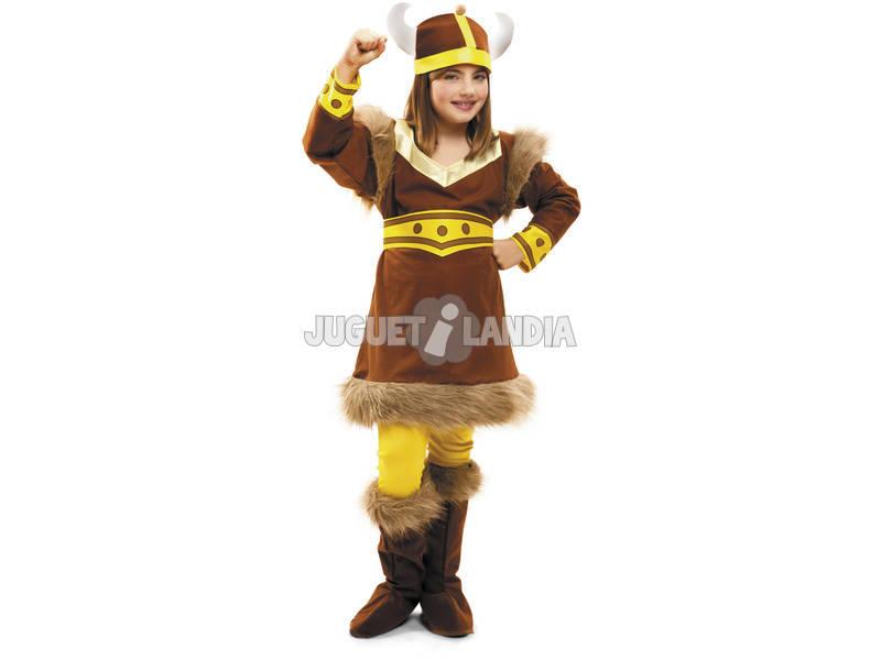 Garota de fantasia L Viking norte