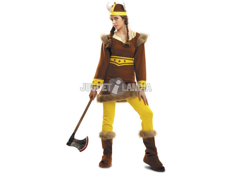 Disfraz Mujer L Vikinga del Norte