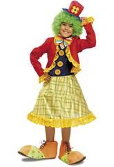imagen Disfraz Niña L Payasita Colorines