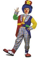 Disfraz Niño XL Payaso Abrigo