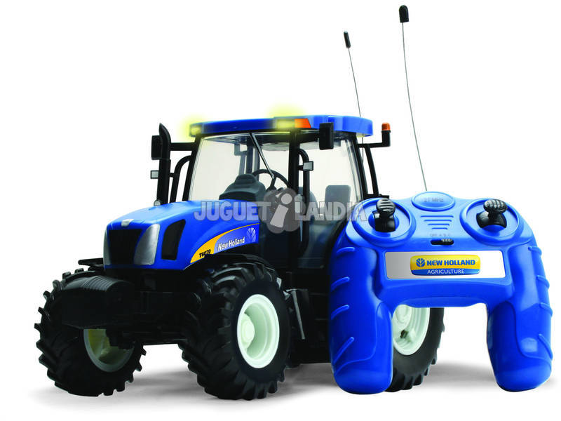 Radio Control Tractor new Holland T6070 Teledirigido