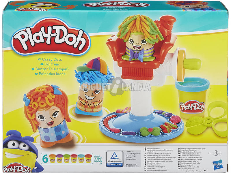 Manualidades Play-Doh Peinados Locos HASBRO B1155
