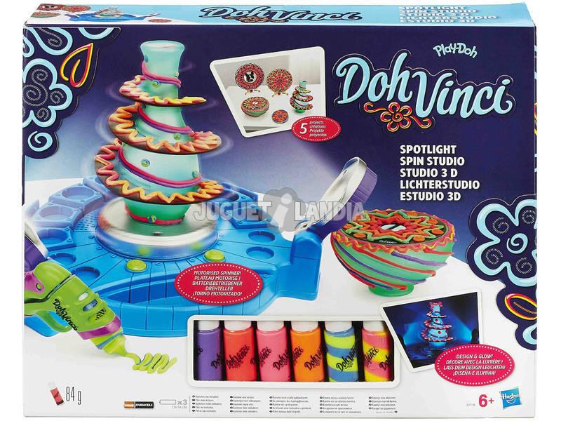 Play doh Dohvinci Estudio Gira y Decora