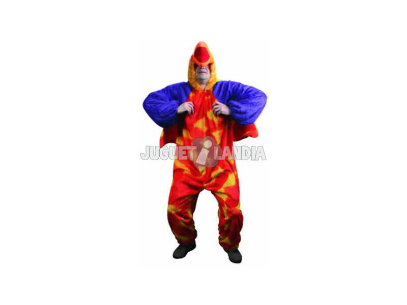 Disfraz Loro Hombre Talla XL