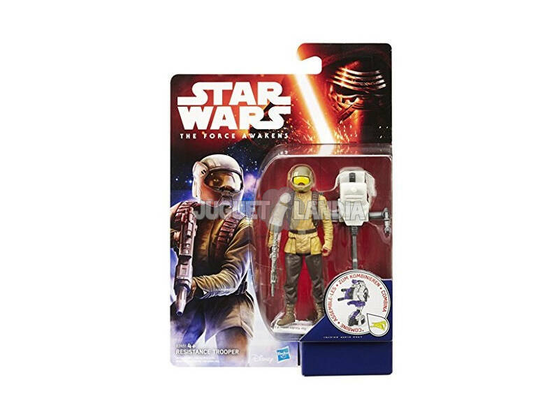 Star Wars E7 Figura Jungle Space Sortida