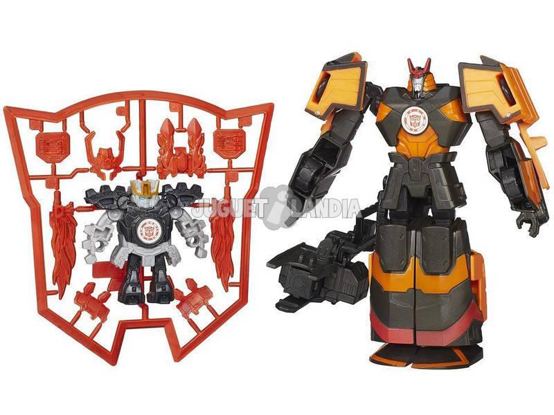 Transformers Mini con Deployers