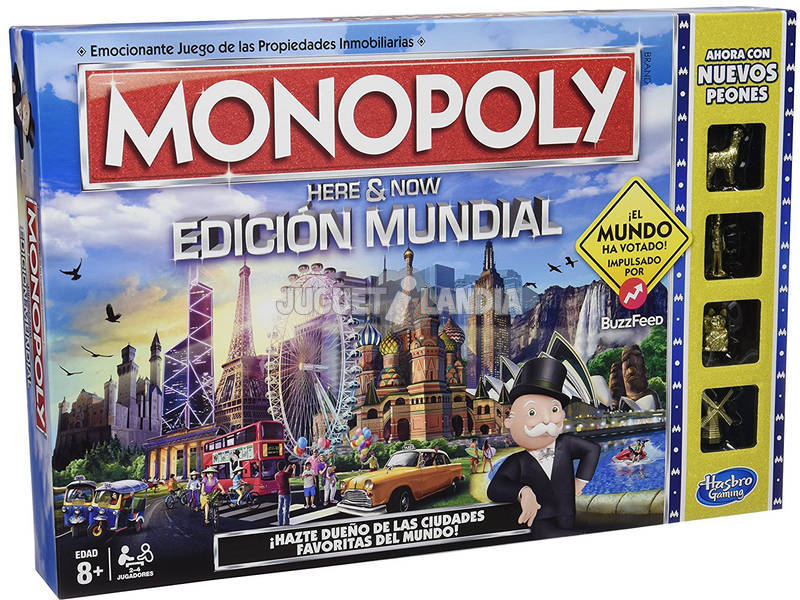 Juego de Mesa Monopoly Edición Mundial HASBRO GAMING B2348