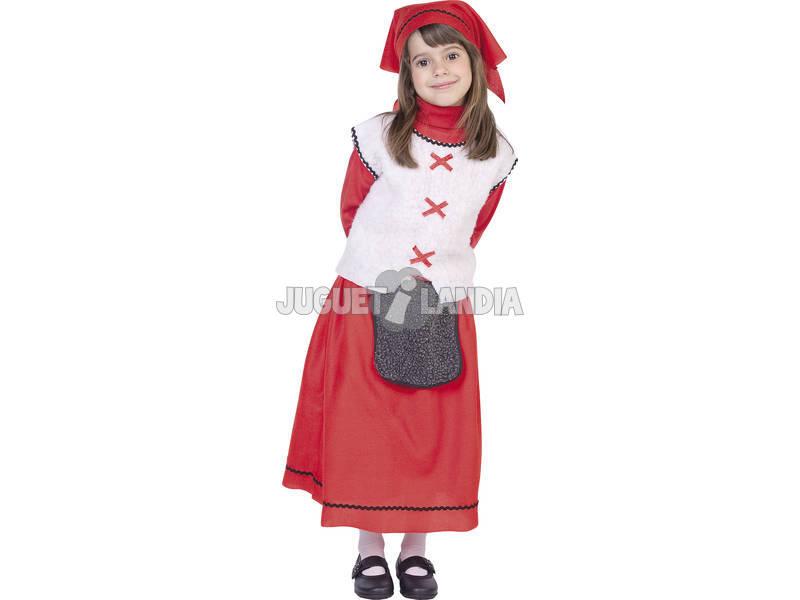 Disfraz niña pastorcilla T-L