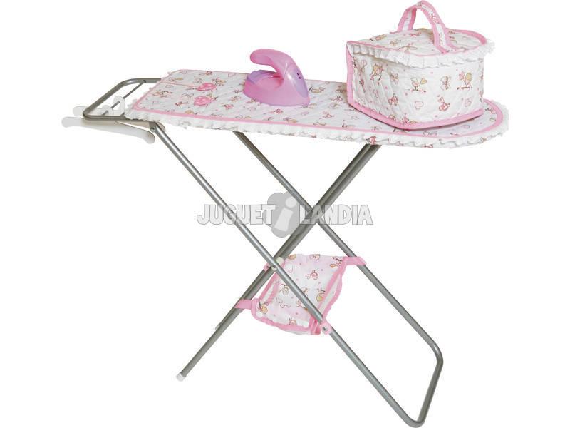 Planchador con plancha y bolsa juguetilandia for Planchador de ropa