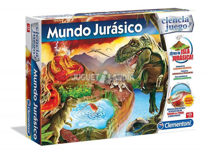 Jogo Científico Mundo Jurássico Ovos Triops Clementoni 55085