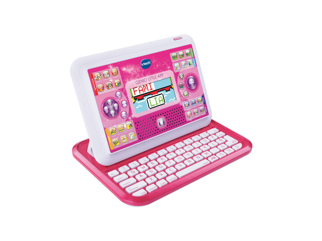 Genio Little APP Rosa Pantalla Color Vtech 155557