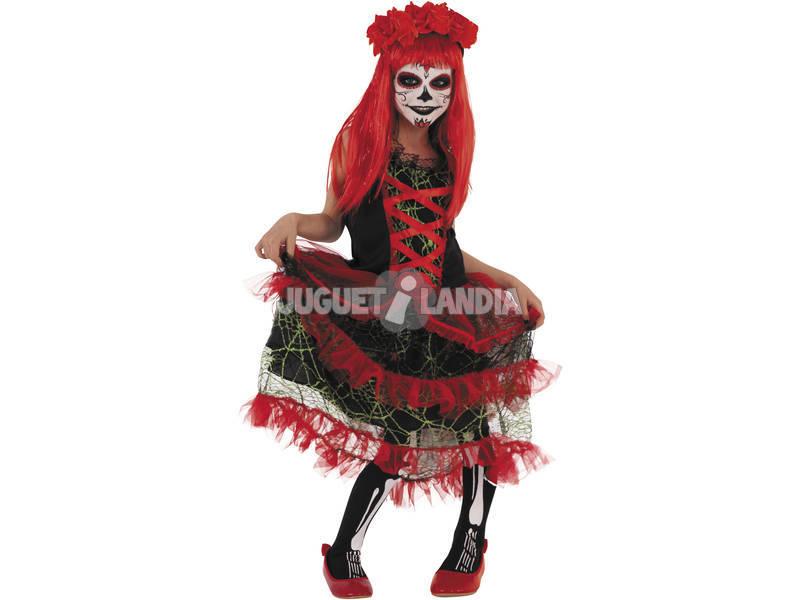 Disfraz Niña Katrina Día de los Muertos Talla S Rubies S8329-S