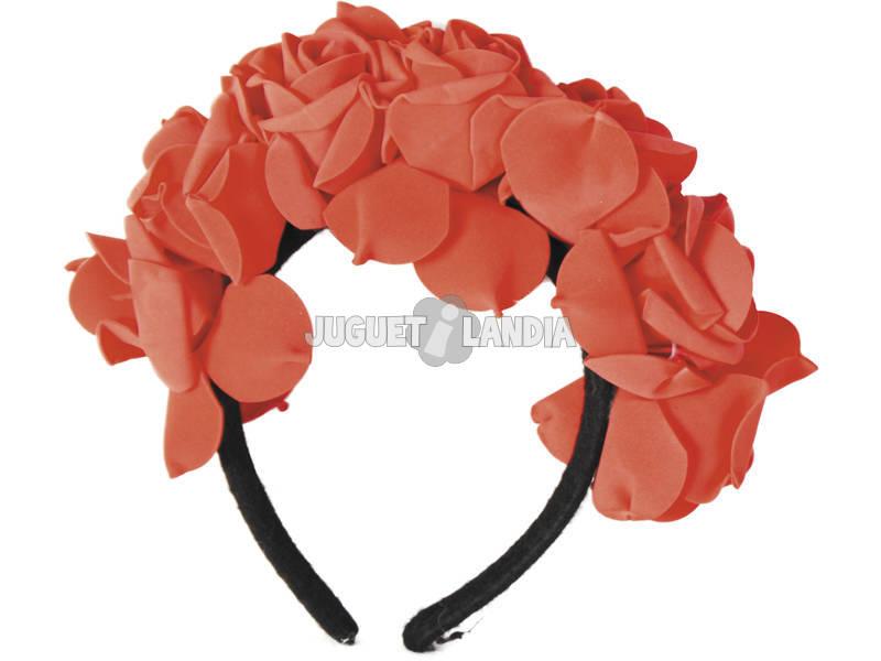 Arco Catrina Rosas Vermelhas Dia dos Mortos Rubies S4351