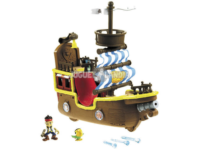 Bucky bateau pirate musical