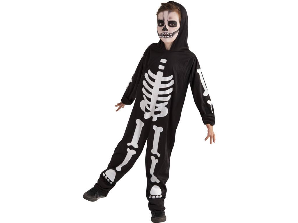 Disfarce Skeleto Glow in Dark Tamanho L Rubies S8318-L