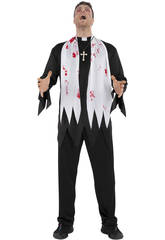 Costume Adulto Prete Posseduto Rubies S8330