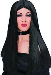 Peluca Bruja Negra Rubies S1423