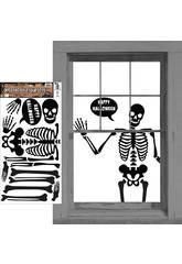 imagen Deco Skeleto Adhesivos Rubies S4343
